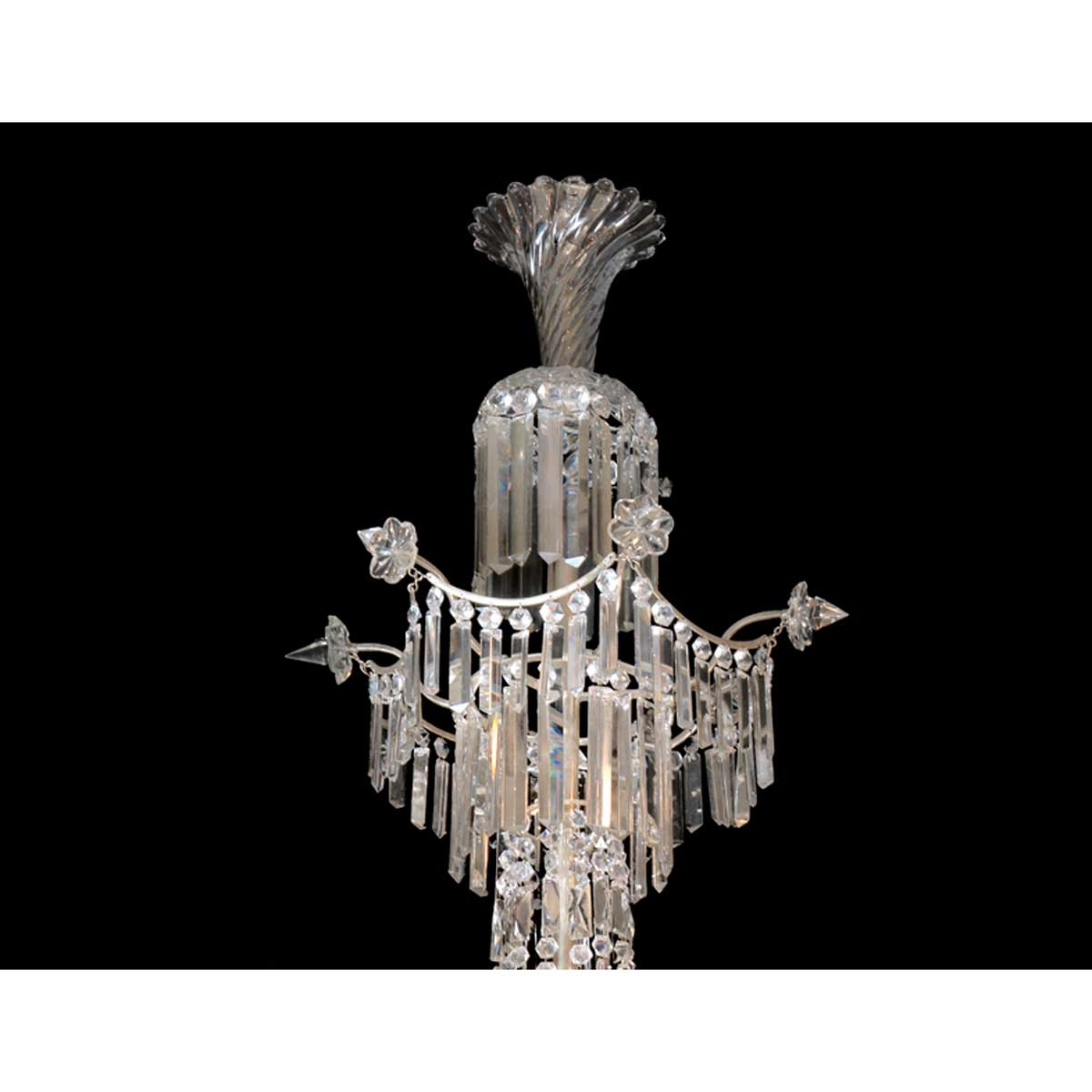 Cut Glass and Lead Crystal Bruges Chandelier