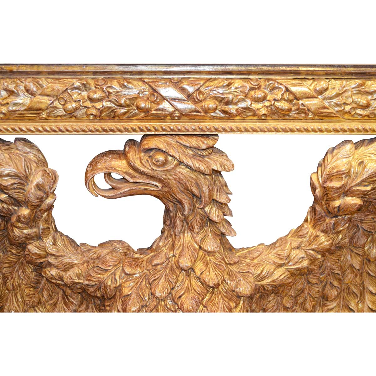A Pair of William Kent Design Eagle Console Tables.